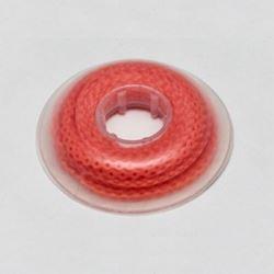 Łańcuszek elastomerowy czerwony bez przerwy