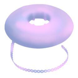 Łańcuszek elastomerowy jasny fiolet bez przerwy