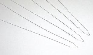 Ligatury metalowe  estetyczne długie
