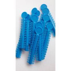 Ligatury elastomerowe błękit królewski