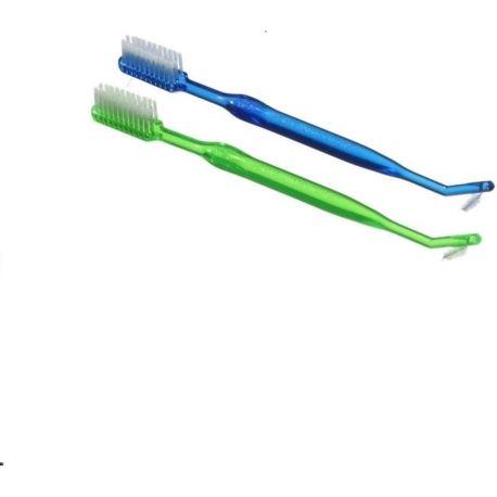 Szczoteczka ortodontyczna z wyciorkiem