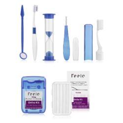 Zestaw ortodontyczny dla pacjenta zielony